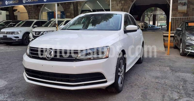 Volkswagen Jetta Trendline Tiptronic usado (2018) color Blanco precio $174,900