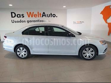 Volkswagen Jetta 4p Trendline L5/2.5 Aut usado (2017) color Blanco precio $208,000