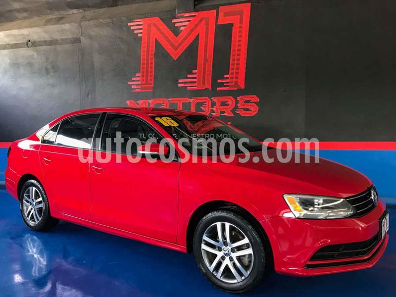 Volkswagen Jetta Trendline Tiptronic usado (2016) color Rojo precio $188,000