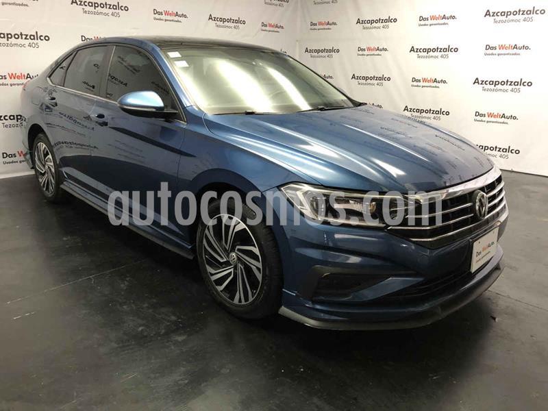 Volkswagen Jetta Highline Tiptronic usado (2019) color Azul precio $369,990