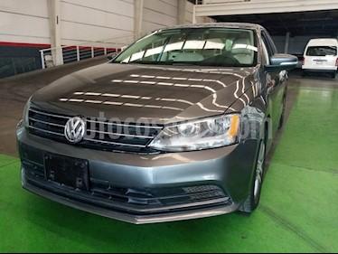 Volkswagen Jetta Trendline usado (2016) color Gris Platino precio $209,000