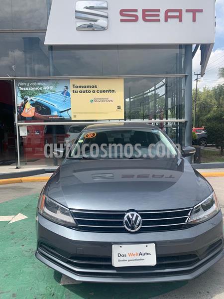 Volkswagen Jetta Trendline usado (2016) color Gris Platino precio $198,990