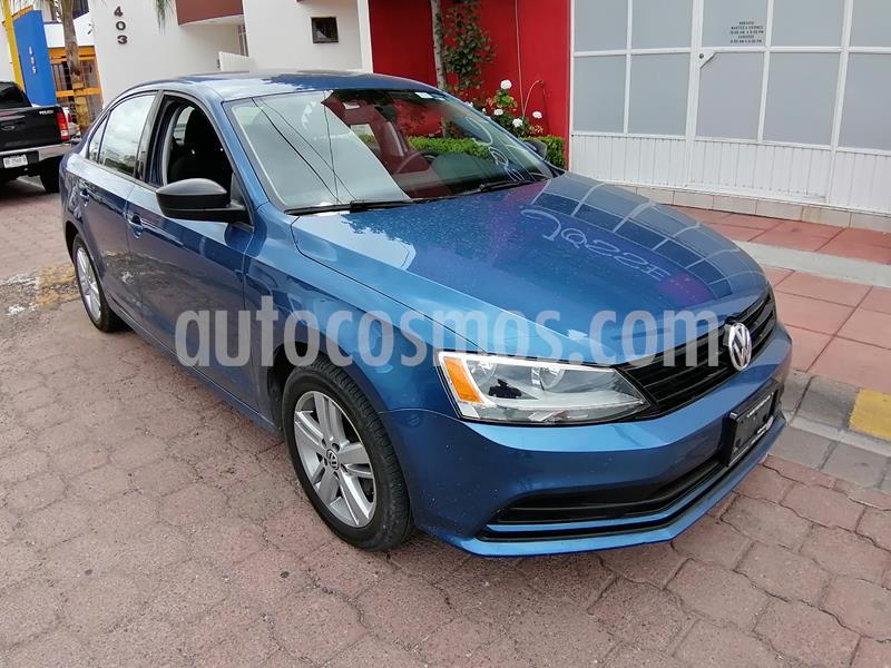 Volkswagen Jetta 2.0 Tiptronic usado (2015) color Azul precio $159,500