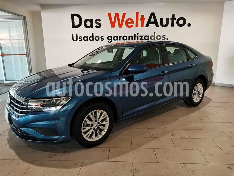 Volkswagen Jetta Comfortline Tiptronic usado (2019) color Azul precio $299,900
