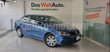 foto Volkswagen Jetta Trendline usado (2016) color Azul precio $185,000