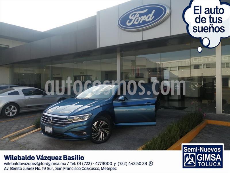 Volkswagen Jetta Highline Tiptronic usado (2019) color Azul Claro precio $345,000