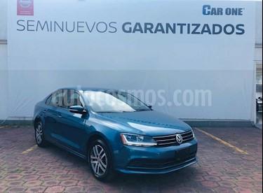 Volkswagen Jetta Trendline Tiptronic usado (2017) color Azul precio $199,900
