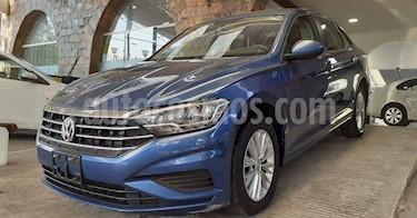 Volkswagen Jetta 4p Comfortline L4/1.4/T Aut usado (2019) color Azul precio $244,900