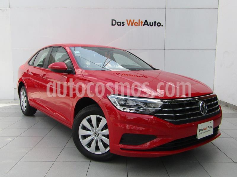 Volkswagen Jetta Trendline usado (2019) color Rojo Tornado precio $285,000