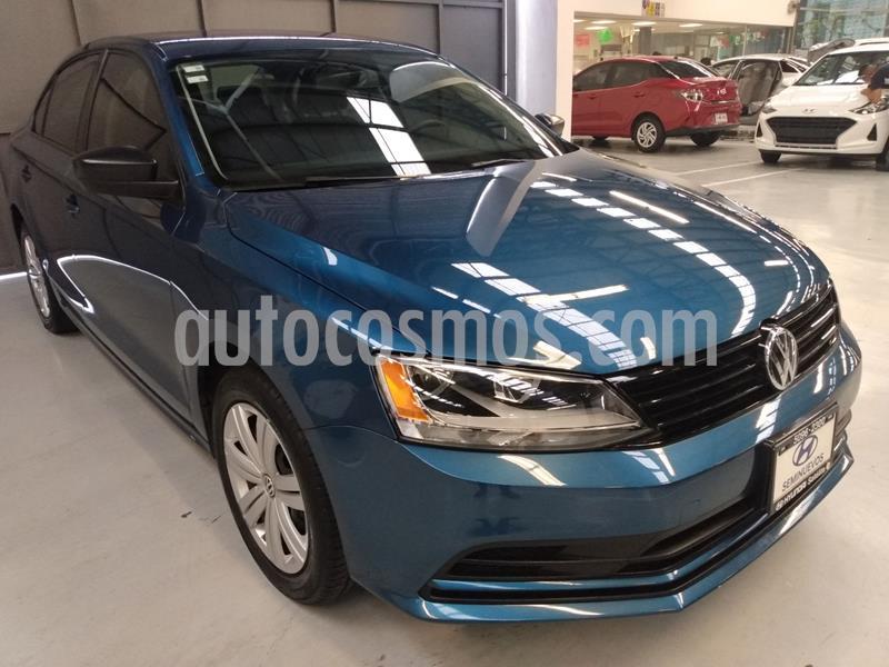 Volkswagen Jetta 2.0 usado (2018) color Azul precio $206,900