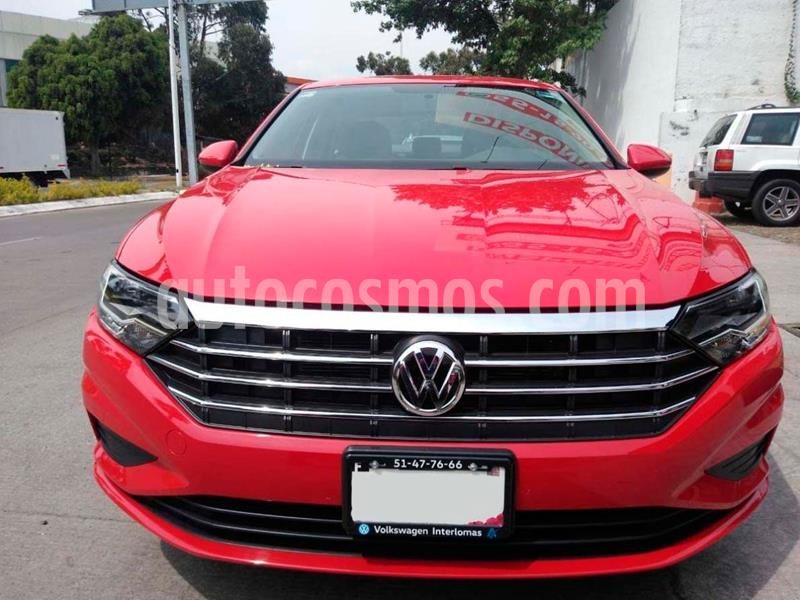 Volkswagen Jetta Trendline usado (2019) color Rojo precio $286,000