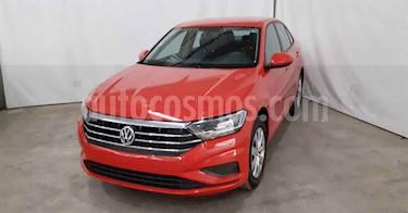 Volkswagen Jetta 4p Trendline L4/1.4/T Aut usado (2019) color Rojo precio $239,900