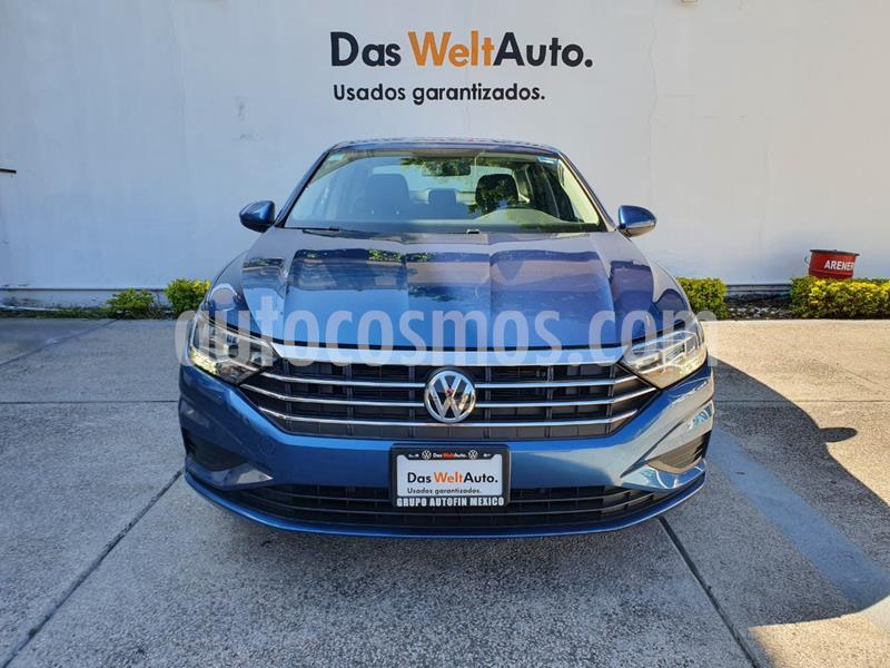 Volkswagen Jetta Trendline Tiptronic usado (2019) color Azul precio $304,900