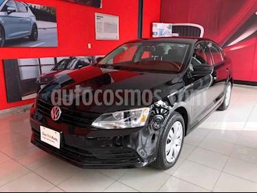 Volkswagen Jetta 4p L4/2.0 Man usado (2018) color Negro precio $200,000