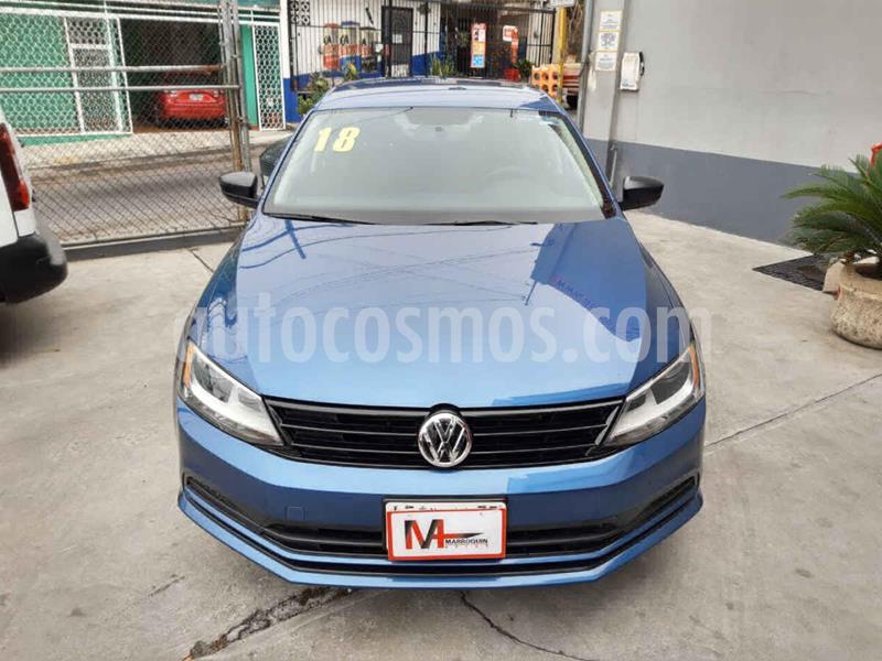 Volkswagen Jetta 2.0 Tiptronic usado (2018) color Azul precio $199,000