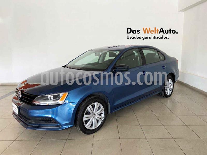 Volkswagen Jetta 2.0 usado (2018) color Azul precio $204,946