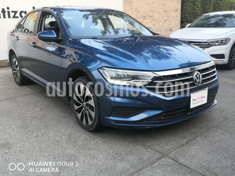 Volkswagen Jetta Trendline usado (2019) color Azul precio $285,000