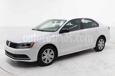 Volkswagen Jetta 4p L4/2.0 Aut usado (2018) color Blanco precio $189,000