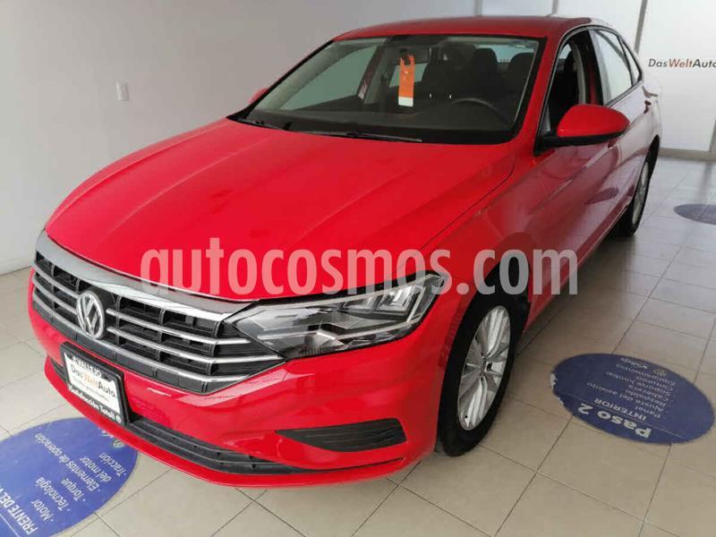 Volkswagen Jetta Comfortline usado (2019) color Rojo precio $289,500