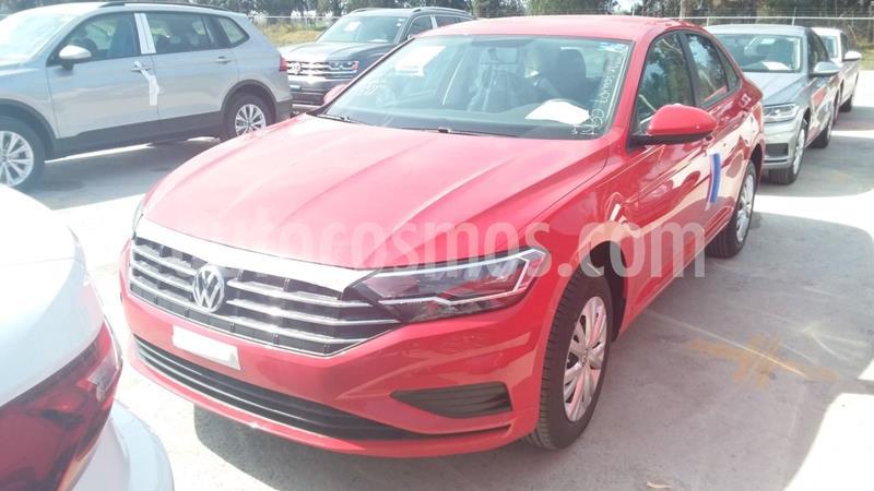Volkswagen Jetta Trendline usado (2020) color Rojo precio $339,000