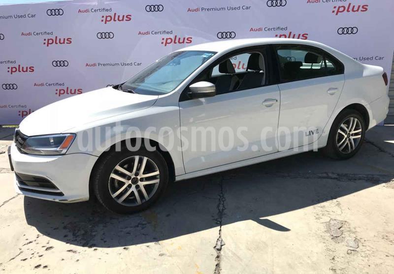 Volkswagen Jetta Live usado (2016) color Blanco precio $185,000