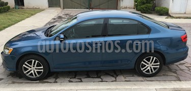 Volkswagen Jetta Trendline usado (2015) color Azul precio $190,000