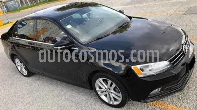 Volkswagen Jetta Sportline 1.8 T Tiptronic Piel usado (2015) color Negro precio $199,999