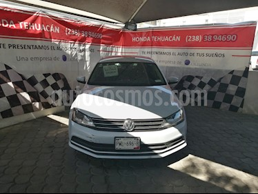 Volkswagen Jetta Trendline Tiptronic usado (2017) color Blanco precio $229,000