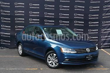 Volkswagen Jetta Trendline 2.0 Aut usado (2017) color Azul precio $212,000