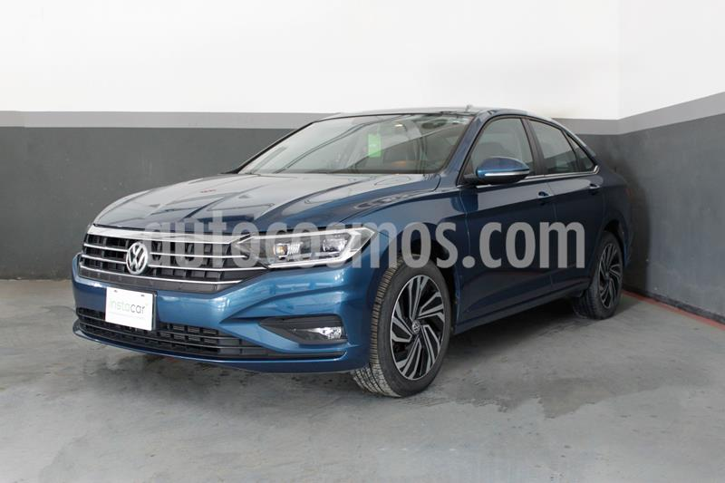 Volkswagen Jetta Highline usado (2019) color Azul precio $398,179