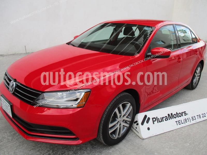 Volkswagen Jetta Trendline usado (2018) color Rojo precio $219,000