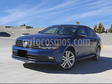 Volkswagen Jetta Sportline Tiptronic usado (2017) color Azul precio $250,000