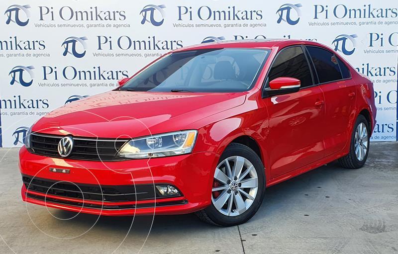 Volkswagen Jetta Trendline usado (2015) color Rojo precio $205,000
