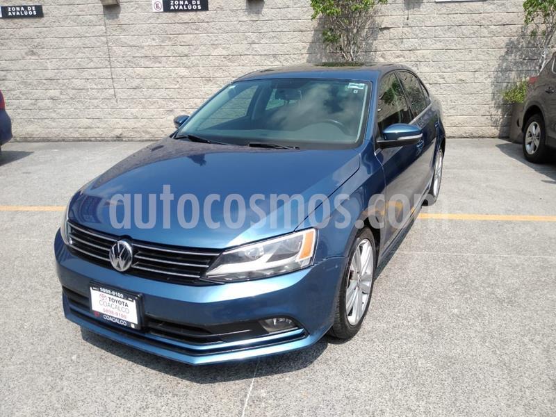 Volkswagen Jetta Sportline usado (2016) color Azul precio $207,000