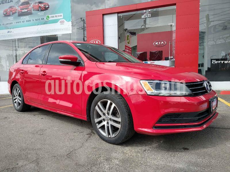 Volkswagen Jetta Trendline usado (2015) color Rojo precio $199,900