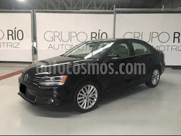 Volkswagen Jetta Sportline 1.8 T Tiptronic Piel usado (2012) color Negro precio $158,000