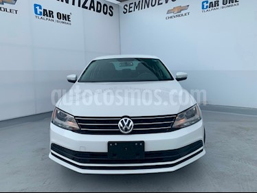 foto Volkswagen Jetta Trendline Tiptronic usado (2017) color Blanco precio $215,000