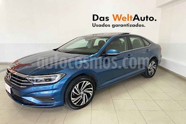 Foto Volkswagen Jetta 4p Highline L4/1.4/T Aut usado (2019) color Azul precio $369,995