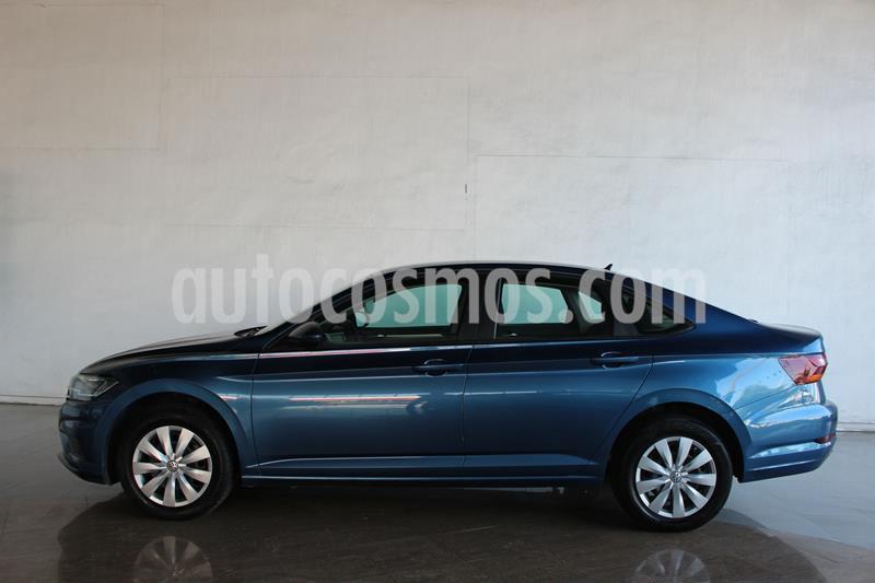 Volkswagen Jetta Trendline usado (2019) color Azul precio $233,500