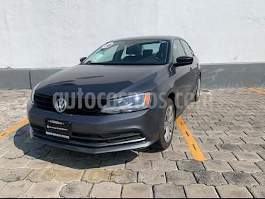 Volkswagen Jetta 2.0 usado (2018) color Gris Platino precio $209,900
