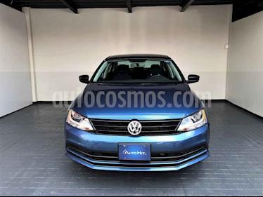 Volkswagen Jetta 4p Comfortline L5/2.5 Aut usado (2018) color Azul precio $224,000