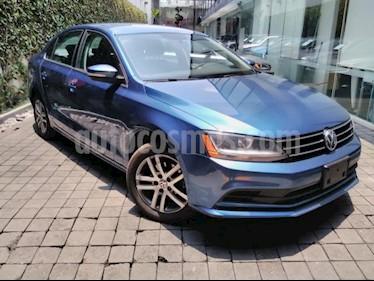 Volkswagen Jetta Trendline usado (2017) color Azul precio $210,000