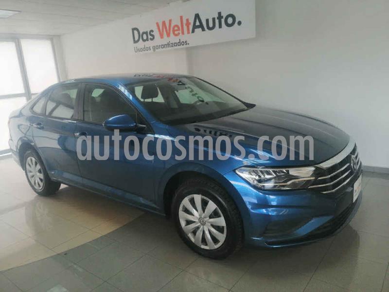 Volkswagen Jetta Trendline Tiptronic usado (2019) color Azul precio $295,000