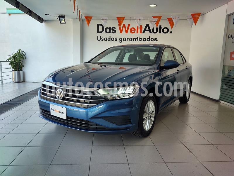 Volkswagen Jetta Comfortline usado (2019) color Azul precio $335,000