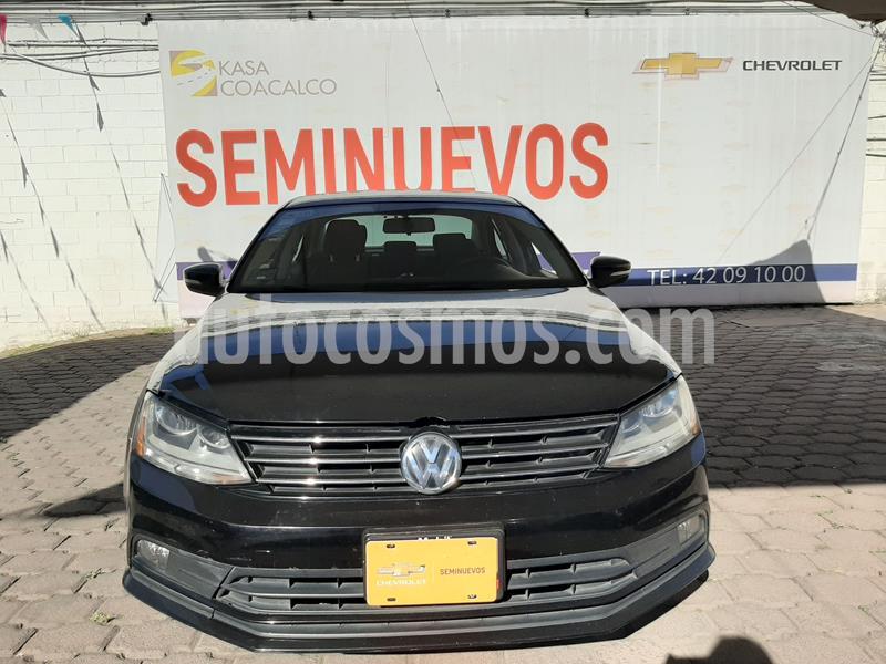 Volkswagen Jetta Comfortline usado (2017) color Negro precio $220,000