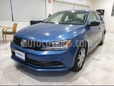 Volkswagen Jetta 2.0 usado (2018) color Azul Electrico precio $204,000