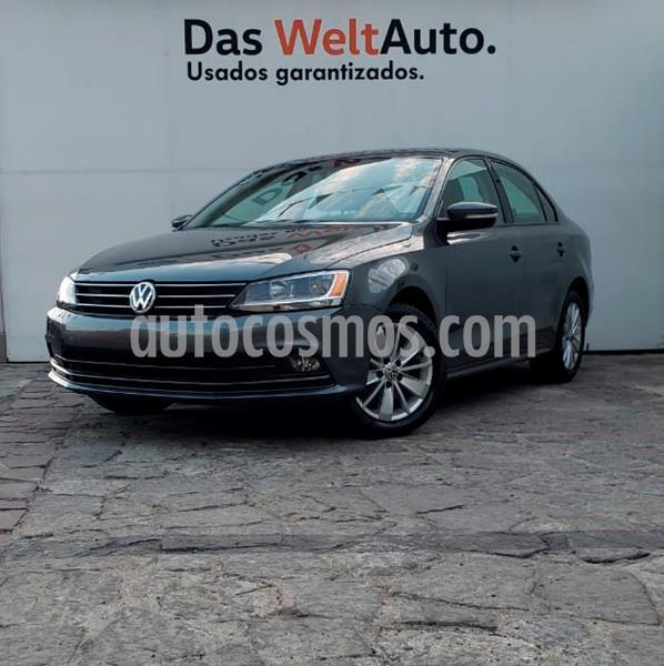 Volkswagen Jetta Comfortline usado (2016) color Gris Oscuro precio $208,000