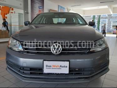 Volkswagen Jetta Trendline usado (2018) color Gris Platino precio $217,000
