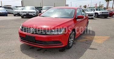 Volkswagen Jetta 4p Trendline L5/2.5 Aut usado (2018) color Rojo precio $179,900
