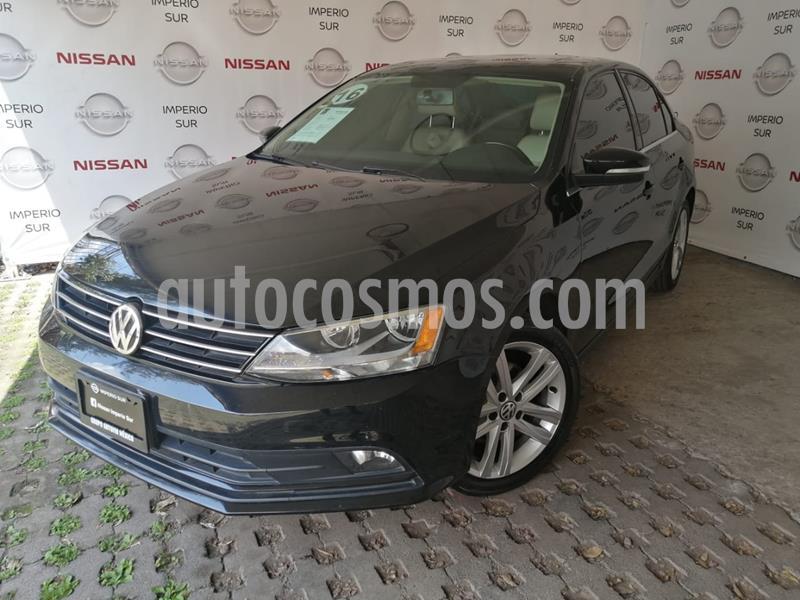 Volkswagen Jetta Sportline 1.8 T usado (2016) color Negro precio $220,000